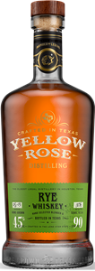 Yellow Rose Rye viski 70cl, lasipullo