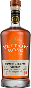 Yellow Rose Premium American whiskey 70cl, lasipullo